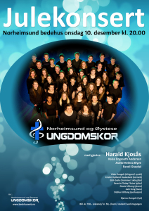 Julekonsert 14 plakat