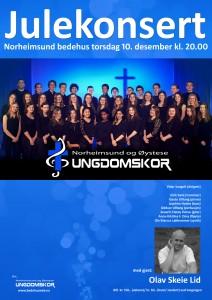 Julekonsert 15 plakat